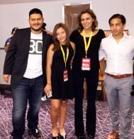 Dallas Int'l Film Festival w/Carmen Marron (Director), Alina and Javier