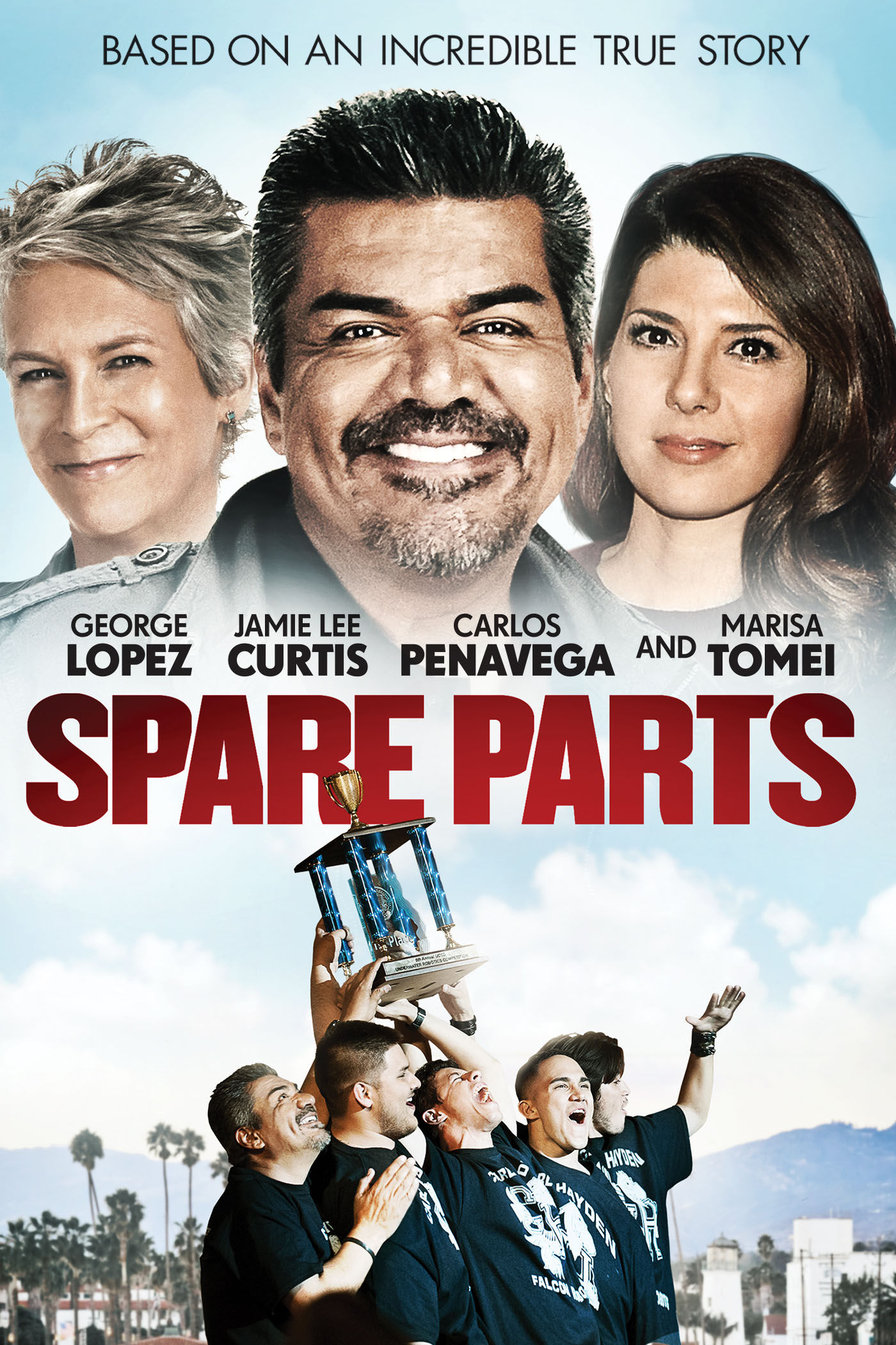 Spare Parts Movie Poster